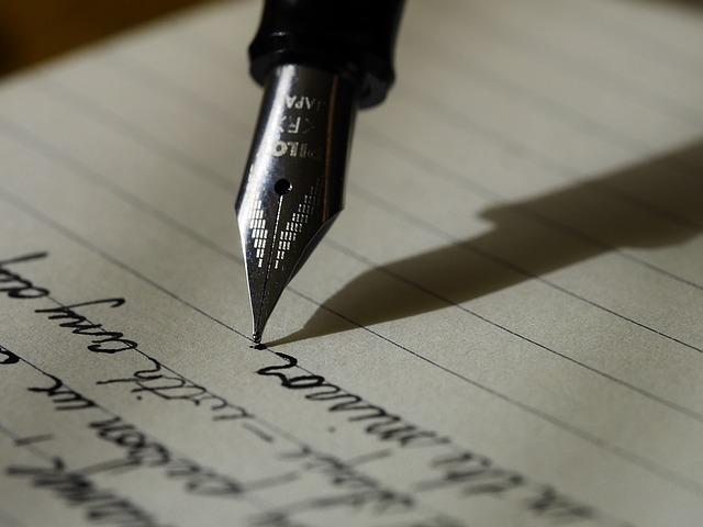 Escribir a un ser querido en su entierro